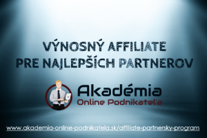 Partnerský (Affiliate) program Internet Marketing Stratégie