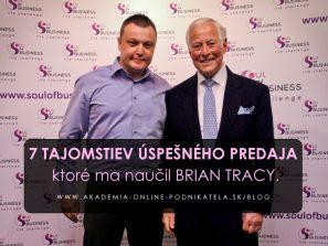 7 Tajomstiev úspešného predaja s Brian Tracy