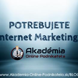 Internet marketing strategie
