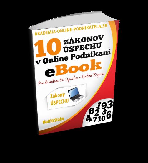 eBook - úspech vonline biznise