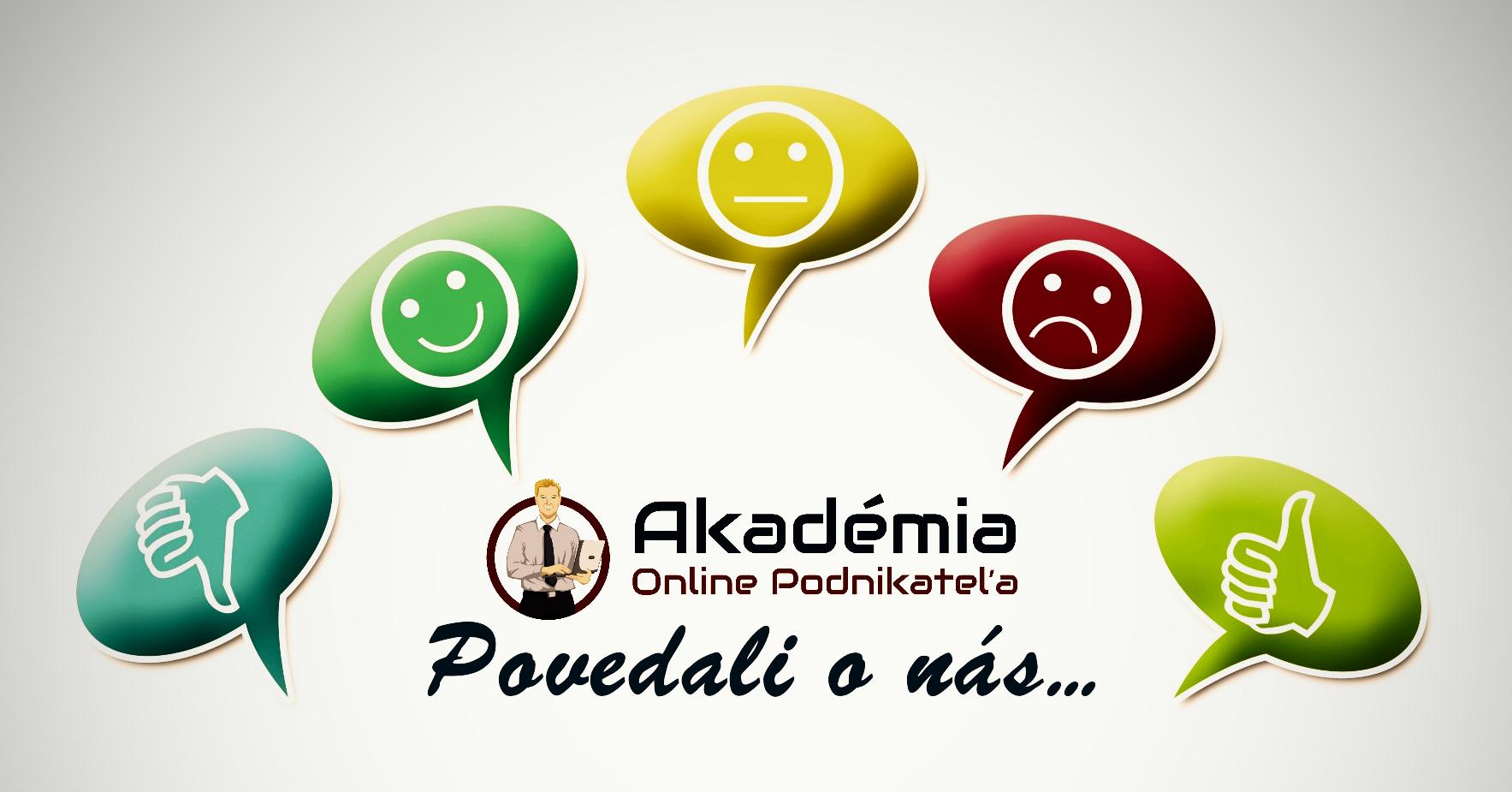 Akadémia online podnikateľa referencie